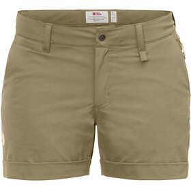 Fjällräven Abisko Stretch Shorts Women, sand